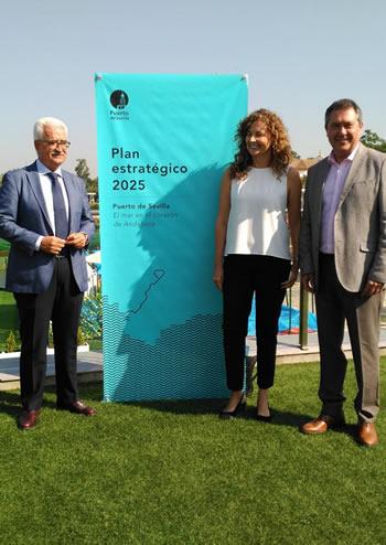 Galia Puerto presente en el Plan del Puerto de Sevilla 2025