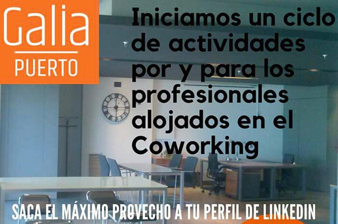 Galia Puerto Eventos: Actividades Coworking