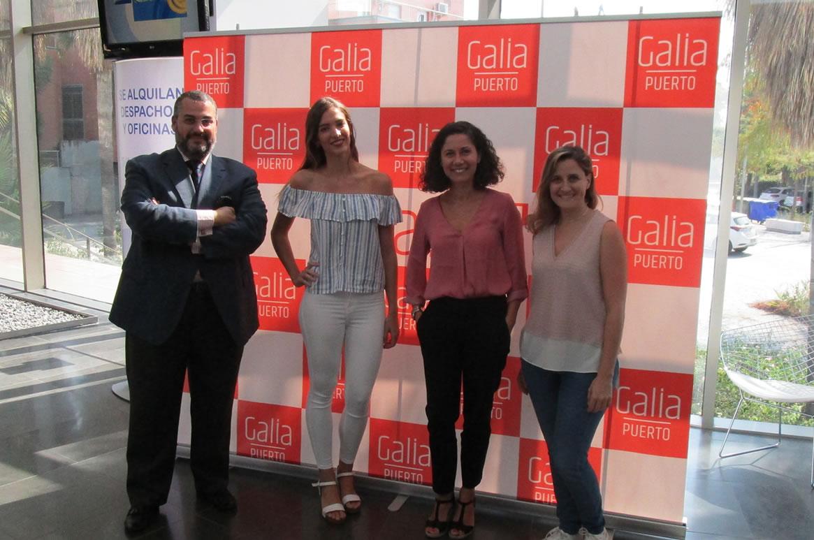 Galia Puerto Eventos: Grabación programa Canal 12 TV