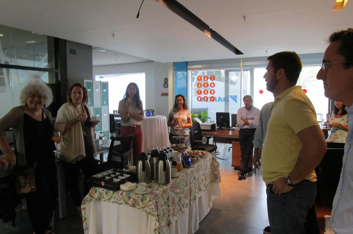 Galia Puerto Eventos: Desayuno Bienvenida Coworking
