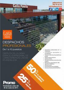 Galia Puerto - Promoción Alquiler de Despachos