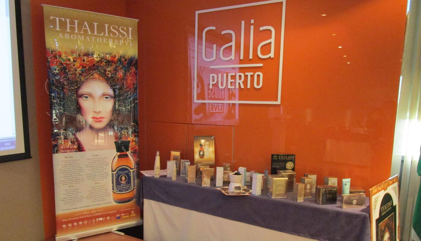 Galia Puerto: 1º Congreso Empresarial Rosa Di Mare