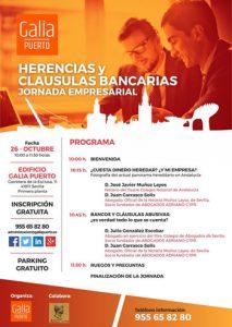 Galia Puerto - Jornada Herencia y Cláusulas Bancarias