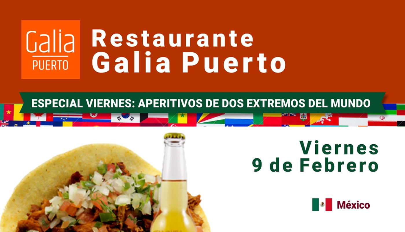Galia Puerto: Promo Restaurante Viernes 9 de Febrero