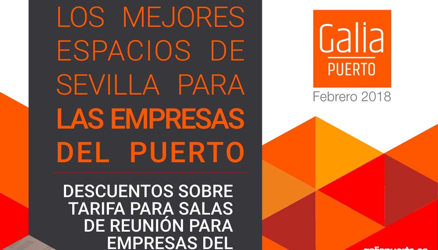 Galia Puerto: Galia Puerto - Promoción Alquiler de Salas Febrero