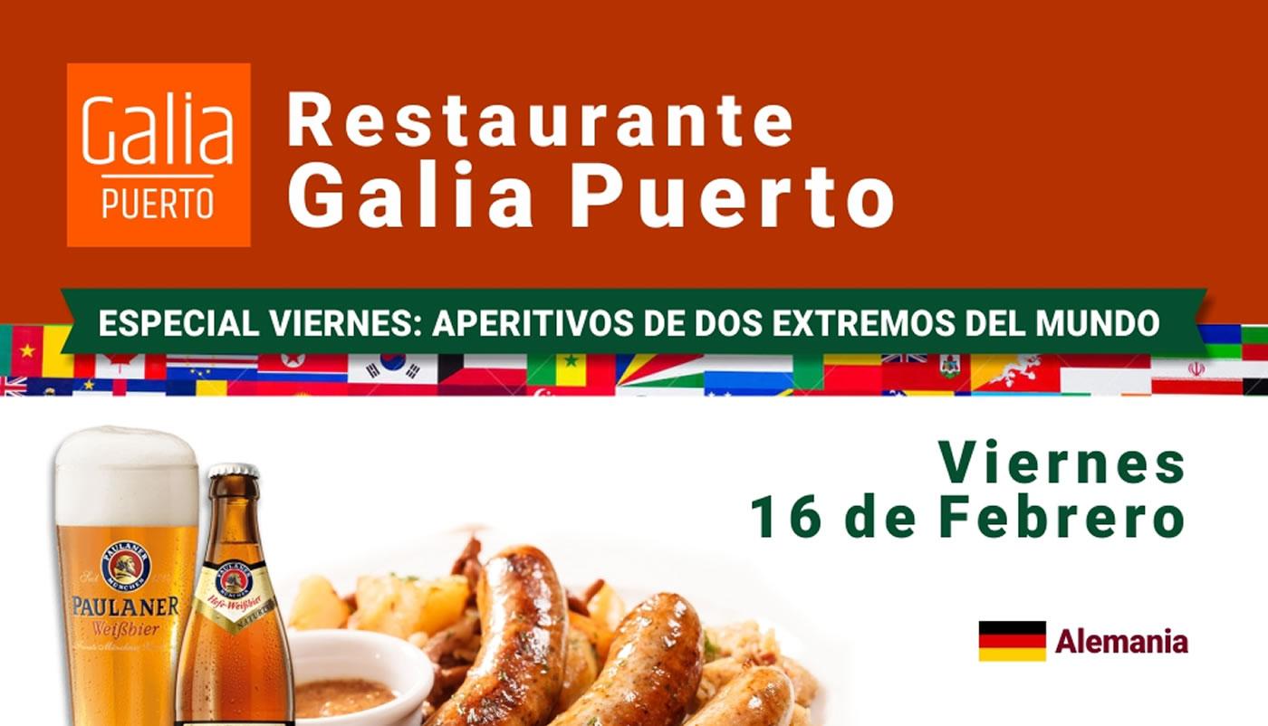 Galia Puerto: Promo Restaurante Viernes 16