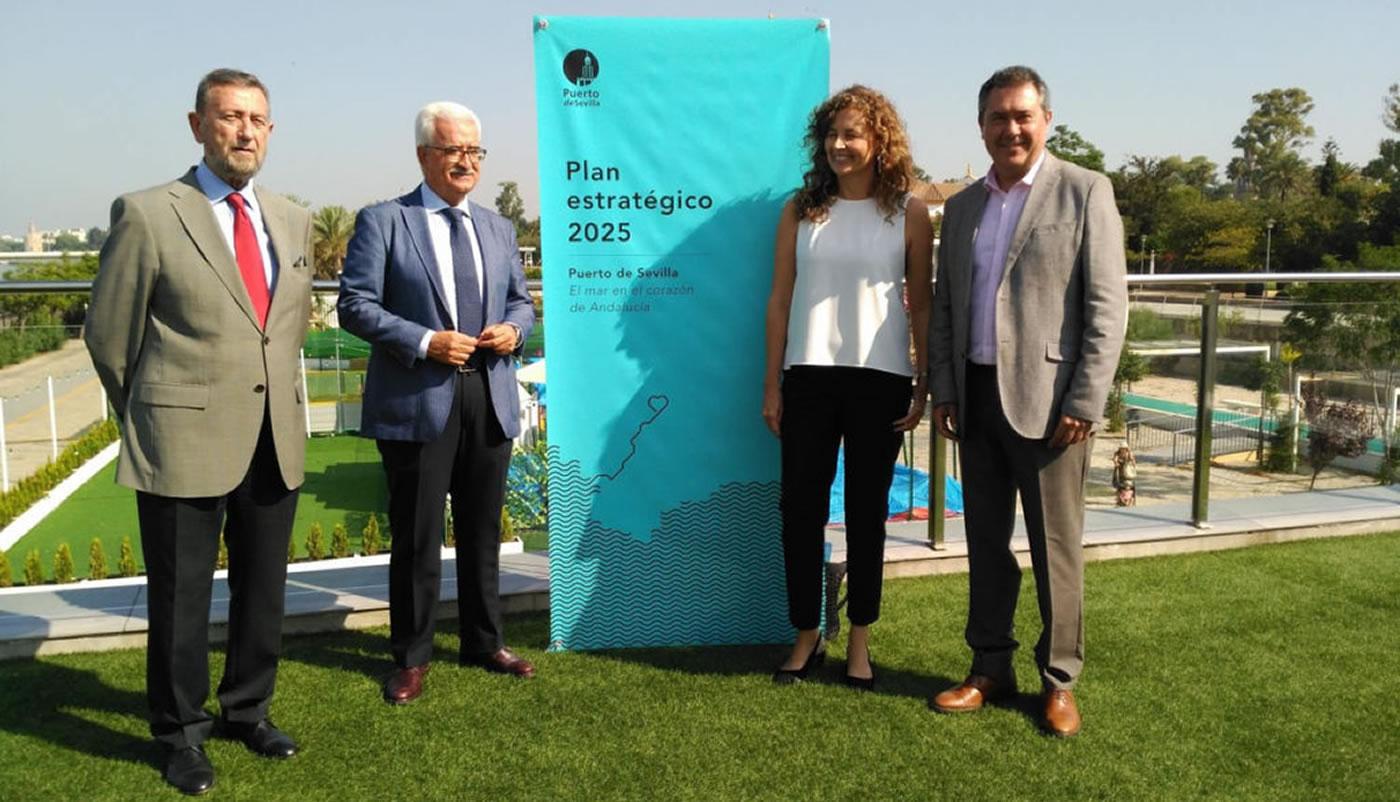 Galia Puerto: Galia Puerto presente en el Plan del Puerto de Sevilla 2025