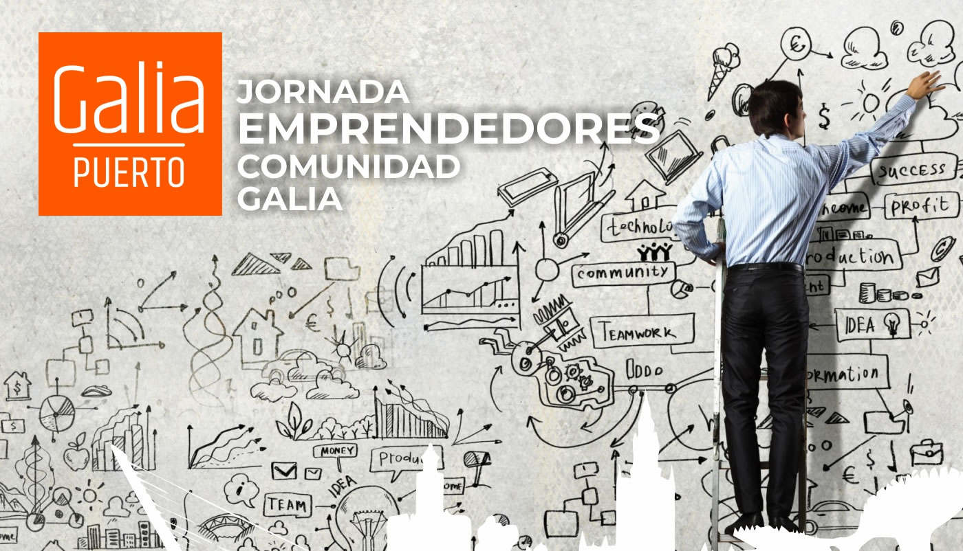 Galia Puerto: Jornada - Emprender hacia el éxito