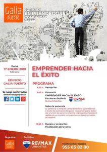Galia Puerto - Jornada - Emprender hacia el éxito
