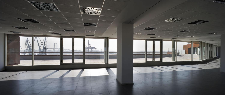 Galia Puerto - Alquiler de oficinas - Interior oficina en alquiler
