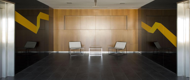 Galia Puerto - Alquiler de oficinas - Hall plantas