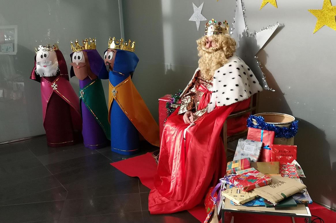 Galia Puerto Eventos: Reyes Magos a los niños de la Guardería Ludoteca