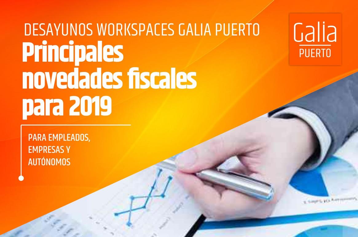 Galia Puerto Eventos: Desayuno de trabajo - Novedades fiscales