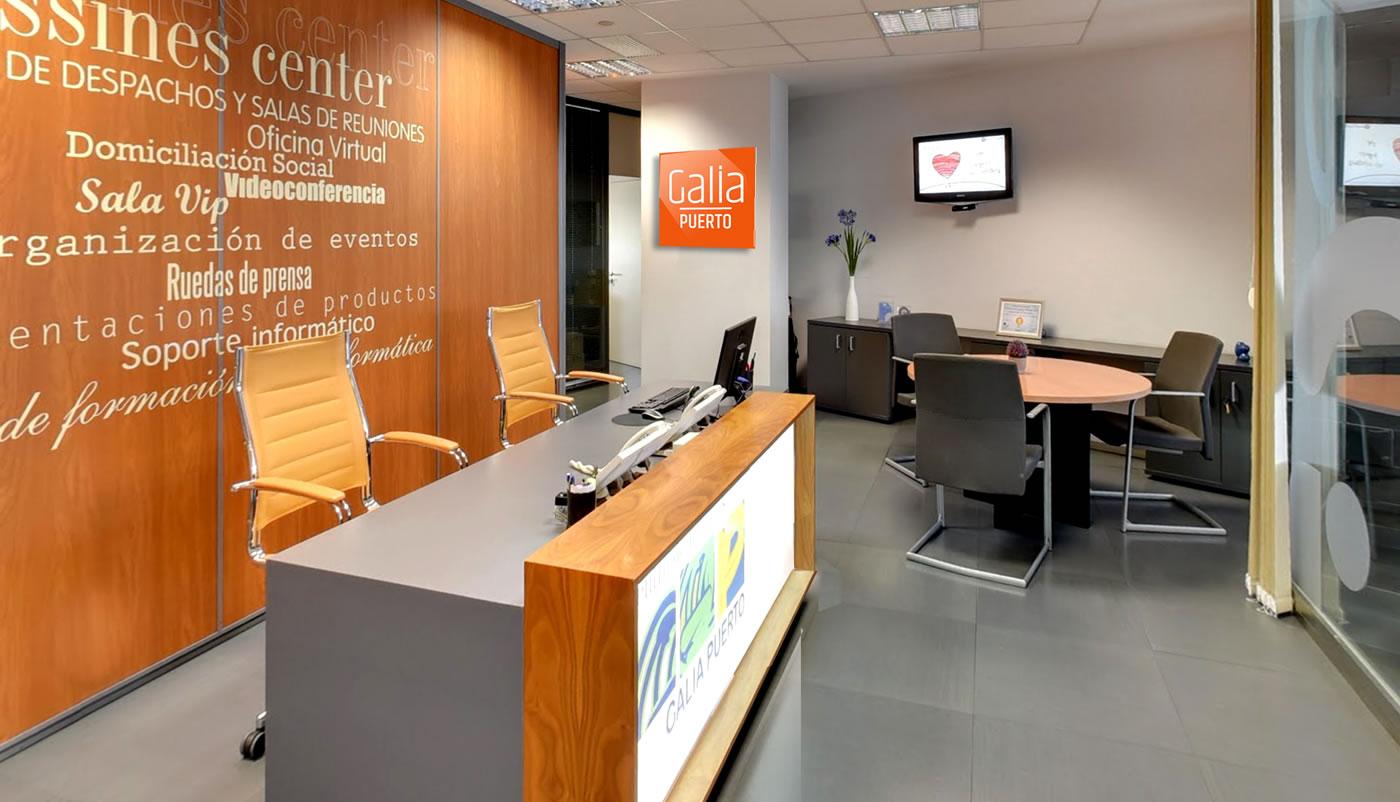 Galia Puerto - Causa una buena impresión con el servicio de recepción de clientes