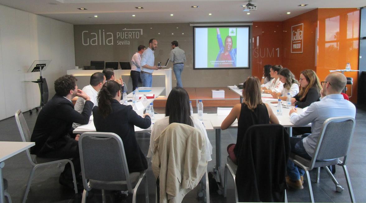 Galia Puerto - Eventos - Leroy Merlin - Jornada de selección de nuestro Programa de Graduados/asv