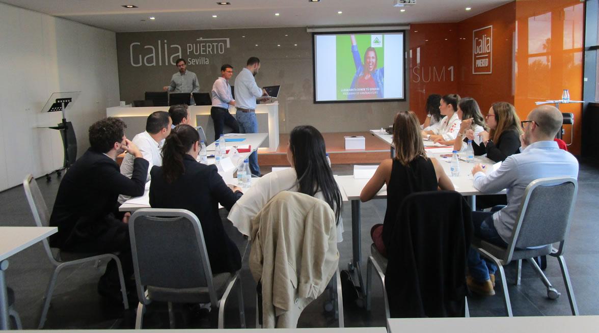 Galia Puerto - Eventos - Leroy Merlin - Jornada de selección de nuestro Programa de Graduados/as