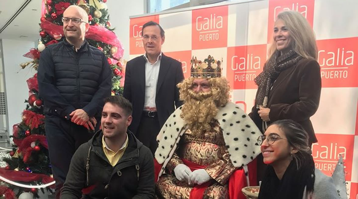 Galia Puerto - Eventos - Chocolatada en Galia Puerto