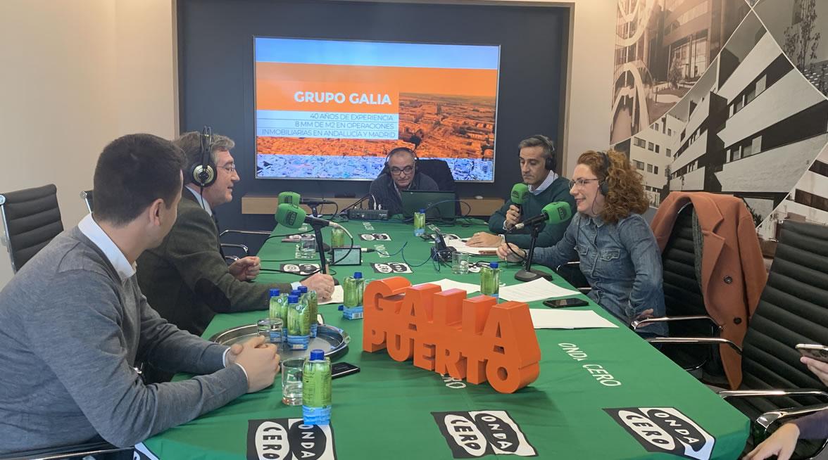 Galia Puerto - Eventos - Programa de radio Onda Cero