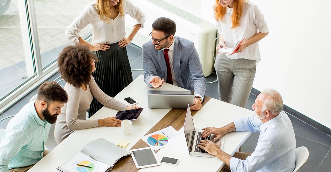 Diversidad generacional en espacios de trabajo
