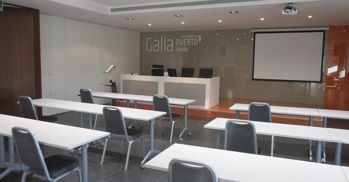 Galia Puerto - Salas de reuniones adaptadas a las necesidades COVID