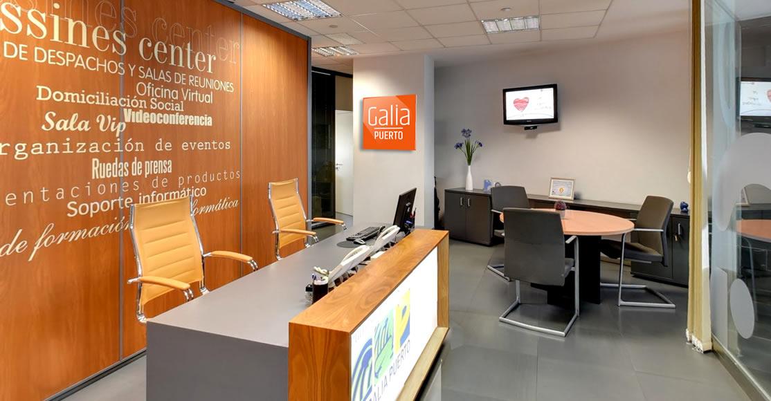 Galia Puerto - Flexibilidad para grandes y pequeñas empresas en nuestro Centro de Negocios